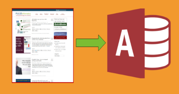 File Download: Microsoft Access Retrieve Website Data Automatically