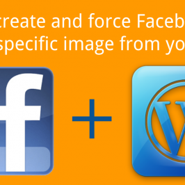Share the Correct Blog Image on Facebook from WordPress