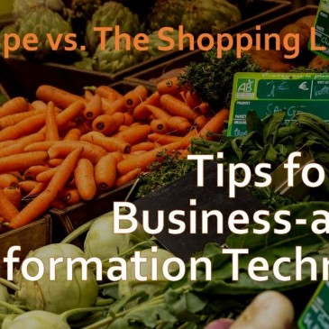 What grocery shopping can teach us about business-aligned IT