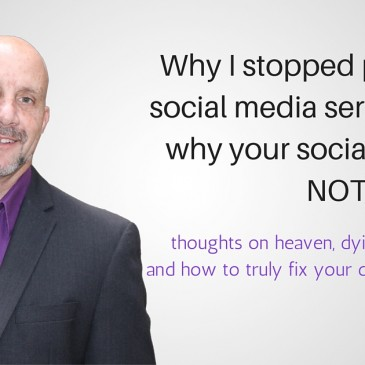 Founder's blog – why we stopped selling social media